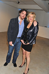 SACHA NEWLEY and ALISON JACKSON at Arts for Human Rights gala dinner in aid of The Bianca Jagger Human Rights Foundation in association with Swarovski held at Phillips de Pury & Company, Howick Place, London on 13th October 2011.