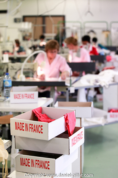 Atelier de sous-vetements Monette, Made in France.