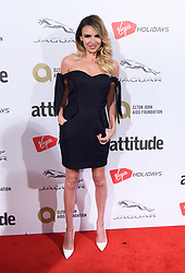 EDITORIAL USE ONLY<br /> Nadine Coyle attends the Virgin Holidays Attitude Awards at the Roundhouse, London.