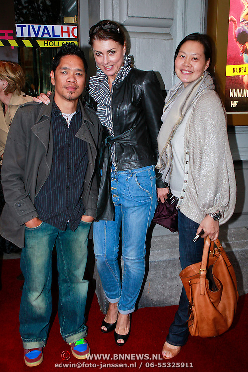 NLD/Amsterdam/20110610 - Premiere Fela, Euvgenia Parakhina en vrienden