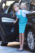 Princess Sofia attend Easter Mass at the Cathedral of Palma de Mallorca on April 1, 2018 in Palma de Mallorca, Spain