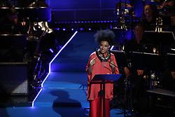 June 15, 2017 - Stockholm, Sweden - Esperanza Spalding ..Polar Music Prize 2017, awards ceremony, Stockholm, Sweden, 2017-06-15 ..(c) Patrik C Österberg / IBL..XPBE. (Credit Image: © Patrik C ÖSterberg/IBL via ZUMA Press)