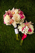 Pink and white bridal bouquet with peach roses, orchids and pink roses. flowers costa rica, Photographers in Costa Rica, getting married in costa rica, costa rica marriage requirements, costa rica photography, costa rica marriage traditions, wedding cr