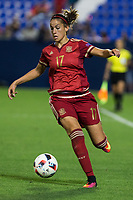 Spain's Olga Garcia during the match of  European Women's Championship 2017 at Leganes, between Spain and Finland. September 20, 2016. (ALTERPHOTOS/Rodrigo Jimenez)