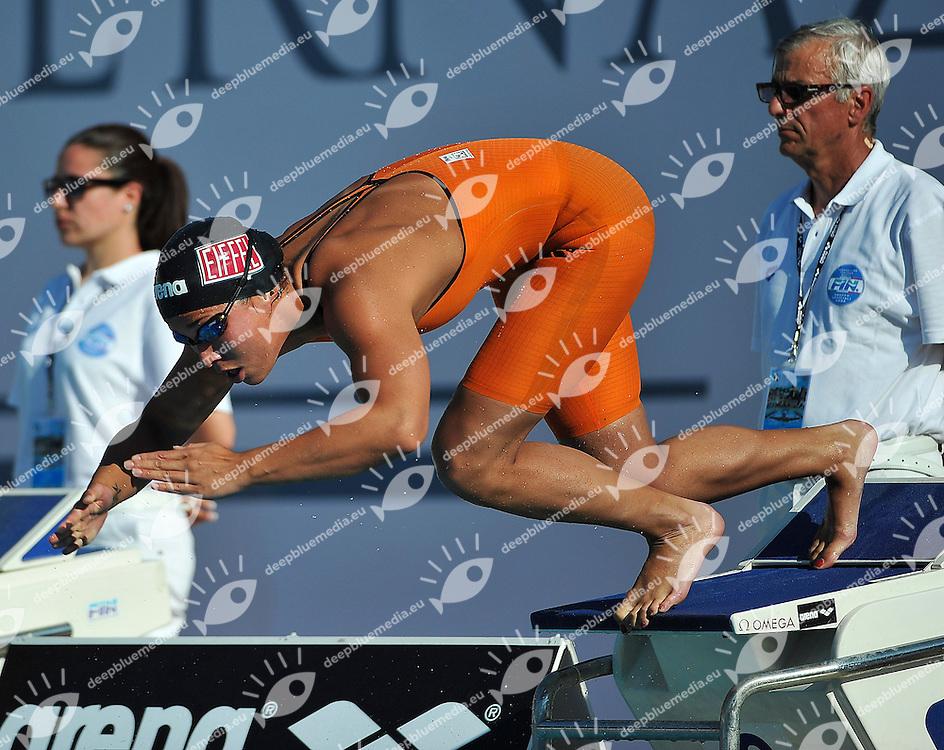 KROMOWIDJOJO Ranomi NED<br /> 100 Freestyle Final A Women<br /> 50 Settecolli Trofeo Internazionale di nuoto 2013<br /> swimming<br /> Roma, Foro Italico  12 - 15/06/2013<br /> Day01<br /> Photo Andrea Masini/Deepbluemedia/Insidefoto