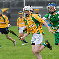 Action from the Knockanean V Feakle Hurling