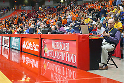 25 February 2012:  IHSA State Consolation game between the LeRoy Panthers and the Illini Bluffs Tigers at Redbird Arena on the campus of Illinois State University in Normal Illinois