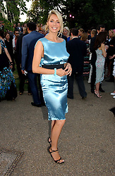 TV presenter TESS DALY  at the Serpentine Gallery Summer party sponsored by Yves Saint Laurent held at the Serpentine Gallery, Kensington Gardens, London W2 on 11th July 2006.<br />