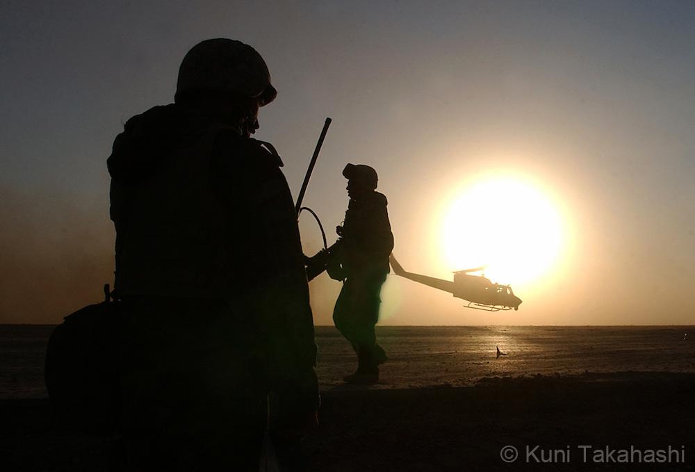 The U.S invasion in Iraq in 2003.