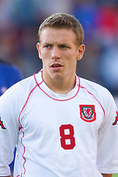 OSLO, NORWAY - Wednesday, September 5, 2001: Wales' Craig Bellamy during the FIFA World Cup 2002 Qualifying Group 5 match against Norway at the Ullevaal Stadion. (Pic by David Rawcliffe/Propaganda)