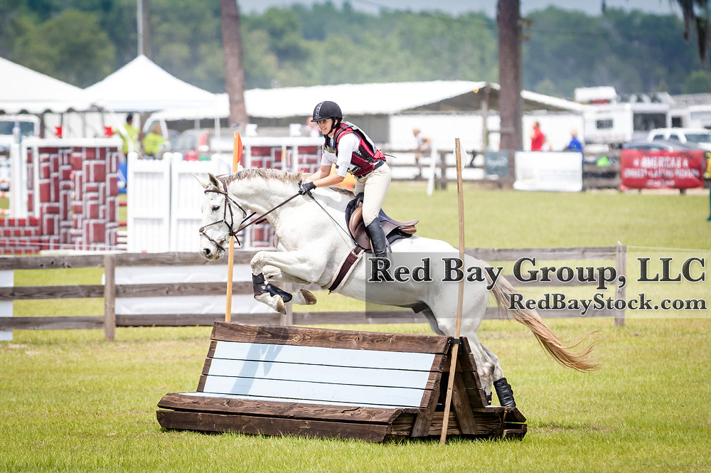 Brittany Fowler and Isa Rockstar at the Ocala International in Ocala, Florida.