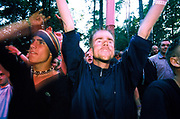 Crowd at Quart festival, Kristiansands Norway 2000