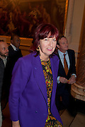 JANET STREET-PORTER, Opening of David Hockney ' A Bigger Picture' Royal Academy. Piccadilly. London. 17 January 2012
