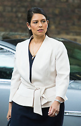 Downing Street,  London, June 27th 2015. Employment Minister Priti Patel arrives for the first post-Brexit cabinet meeting at 10 Downing Street