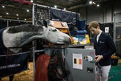 Devos Pieter, BEL, Julyssi van Orti<br /> Indoor Brabant 2018<br /> © Sharon Vandeput<br /> 11/03/18
