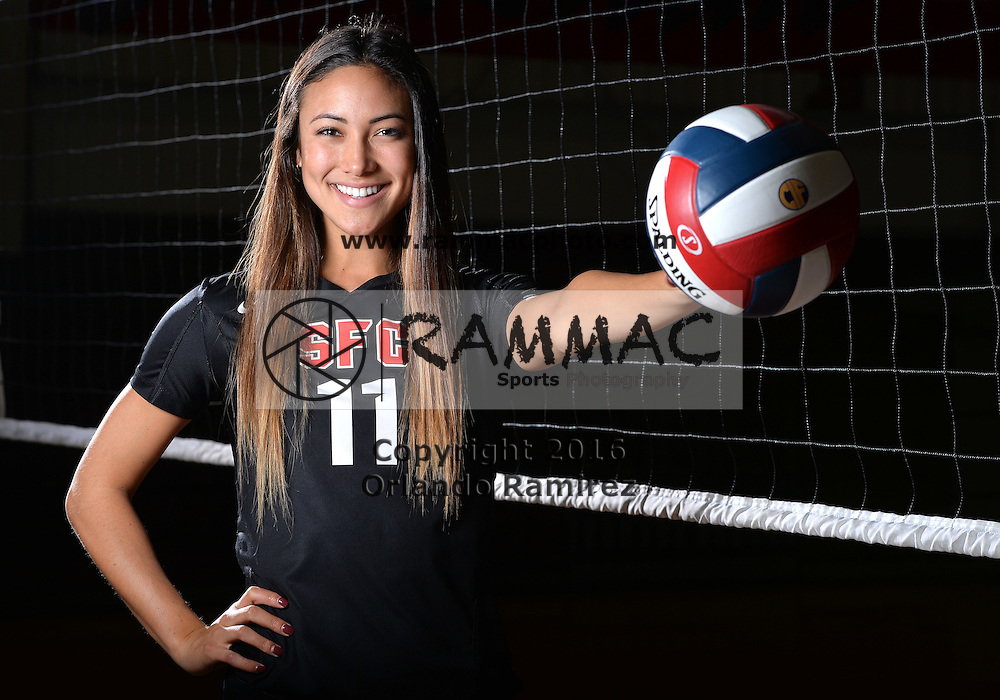 12/1/16 2:09:54 PM -- Solana Beach, CA, U.S.A  -- Santa Fe Christian volleyball player Lexi Sun is an ALL USA player of the year candidate. --    Photo by USA TODAY  Sports Images, Gannett