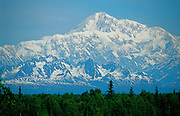 Mt. McKinley (view from south) - Alaska