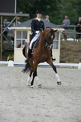Peters Stefanie (NED) - Jeff<br /> Grand Prix Kür Nationscup<br /> Falsterbo Horse Show 2009<br /> © Hippo Foto - Leanjo de Koster