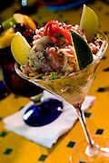 April 23, 2008; ORLANDO, FLORIDA -- Tuna dish at the Ceviche Tapas Bar and Restaurant on Church Street...© 2008 Scott A. Miller