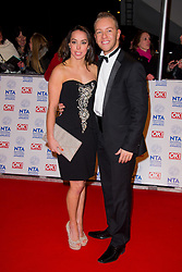 Beth Tweddle arrives at the National Television Awards at the 02 Arena, London Wednesday January 23, 2013. Photo by Chris Joseph / i-Images
