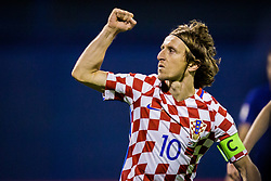 Luka Modric of Croatia during the football match between National teams of Croatia and Greece in First leg of Playoff Round of European Qualifiers for the FIFA World Cup Russia 2018, on November 9, 2017 in Stadion Maksimir, Zagreb, Croatia. Photo by Ziga Zupan / Sportida