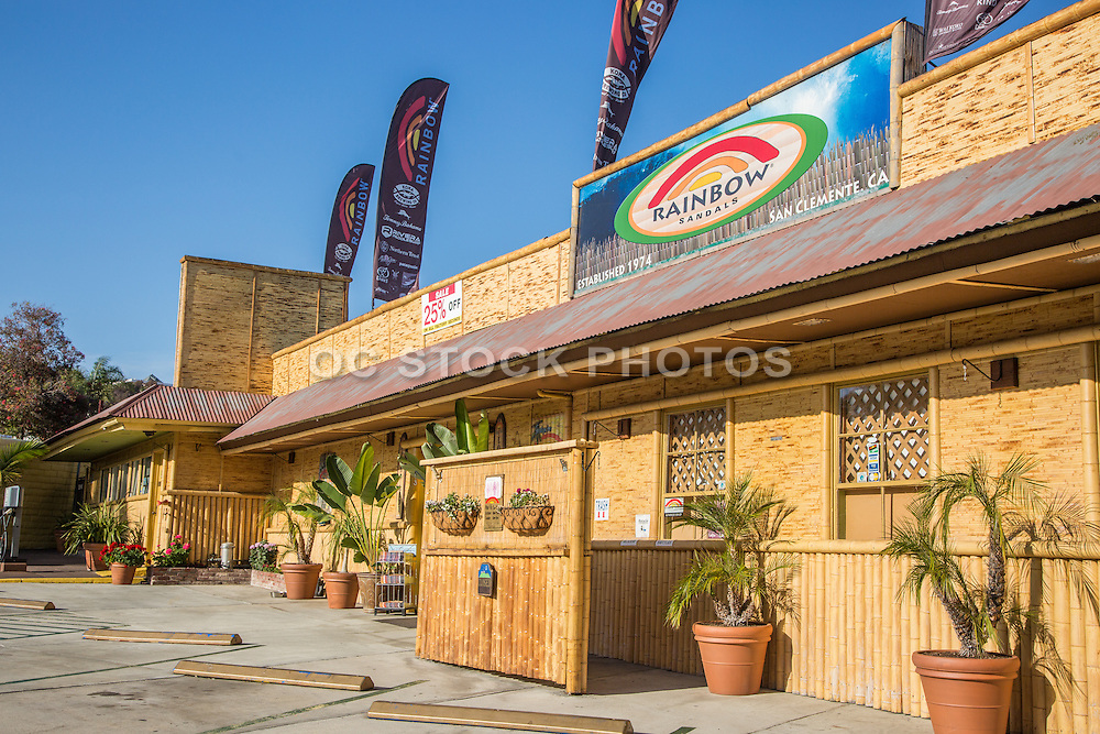 Rainbow Sandals Retail Outlet San Clemente California