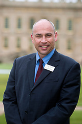 Andre Birckett Manager of Chatsworth Farm Shop..10  May 2012.Image © Paul David Drabble