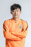 **EXCLUSIVE**Portrait of Chinese soccer player Wang Tong of Shandong Luneng Taishan F.C. for the 2018 Chinese Football Association Super League, in Ji'nan city, east China's Shandong province, 24 February 2018.
