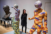 Discobolus and The Townley Venus by Yinka Shonibare - From Life a new exhibition at the Royal Academy of Arts. It runs from 11 December 2017 – 11 March 2018.