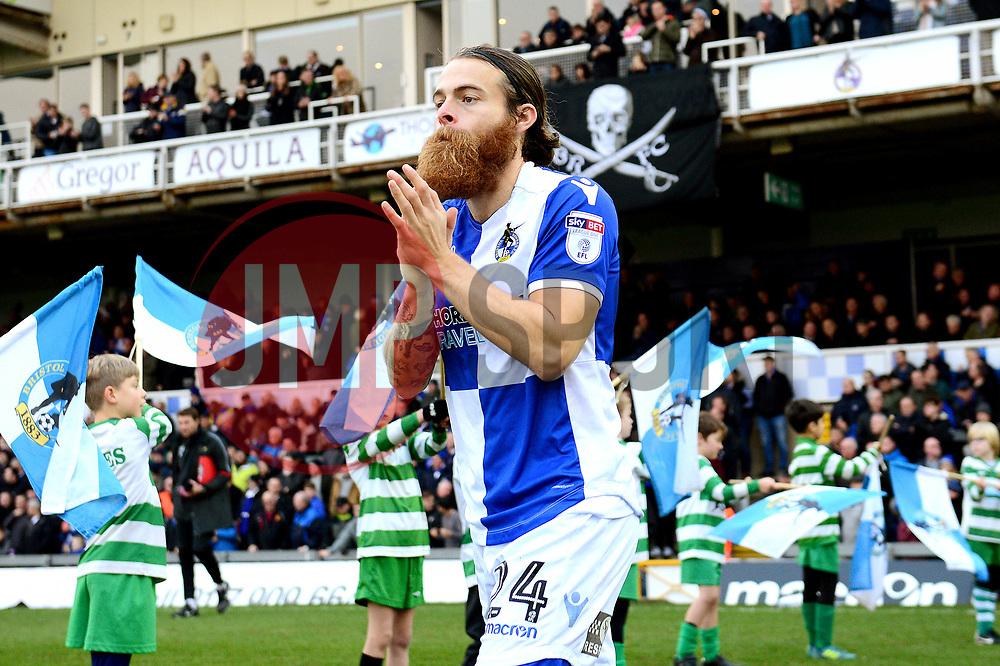 Stuart Sinclair of Bristol Rovers - Mandatory by-line: Dougie Allward/JMP - 23/12/2017 - FOOTBALL - Memorial Stadium - Bristol, England - Bristol Rovers v Doncaster Rovers - Skt Bet League One
