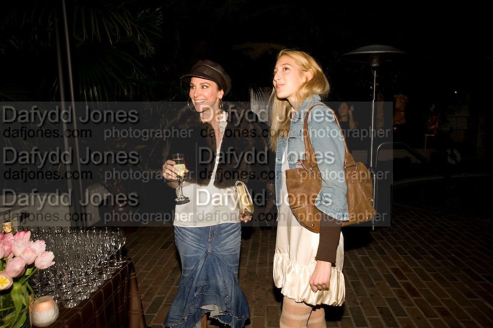 SALLY PERRIN; CHLOE PERRIN; , Rodarte Poolside party to show their latest collection. Hosted by Kate and Laura Muleavy, Alex de Betak and Katherine Ross.  Chateau Marmont. West  Sunset  Boulevard. Los Angeles. 21 February 2009 *** Local Caption *** -DO NOT ARCHIVE -Copyright Photograph by Dafydd Jones. 248 Clapham Rd. London SW9 0PZ. Tel 0207 820 0771. www.dafjones.com<br /> SALLY PERRIN; CHLOE PERRIN; , Rodarte Poolside party to show their latest collection. Hosted by Kate and Laura Muleavy, Alex de Betak and Katherine Ross.  Chateau Marmont. West  Sunset  Boulevard. Los Angeles. 21 February 2009