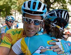 10.07.2011, AUT, 63. OESTERREICH RUNDFAHRT, 8. ETAPPE, PODERSDORF-WIEN, im Bild Fredrik Kessiakoff, (SWE, Pro Team Astana) // during the 63rd Tour of Austria, Stage 8, 2011/07/10, EXPA Pictures © 2011, PhotoCredit: EXPA/ S. Zangrando