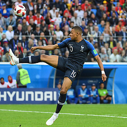 Kylian Mbappe of France during the Semi Final FIFA World Cup match between France and Belgium at Krestovsky Stadium on July 10, 2018 in Saint Petersburg, Russia. (Photo by Anthony Dibon/Icon Sport)