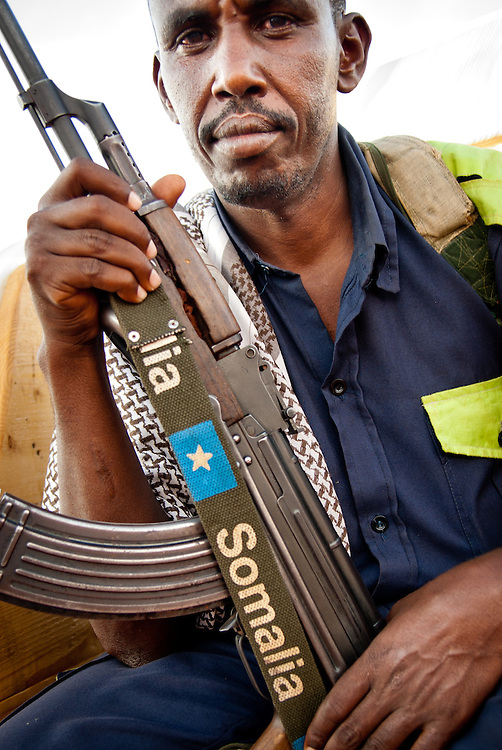 War in Somalia.