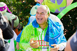 Nickelodeon - Nickelodeon Slime Cup Launch<br /> April 5, 2017: Sea World, Gold Coast, Queensland (QLD), Australia. Credit: Pat Brunet / Event Photos Australia