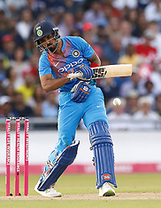 England v India - 1st Vitality IT20 Series Match - Emirates Old Trafford - 03 July 2018