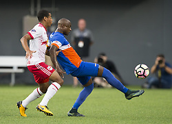 August 15, 2017 - Cincinnati, OH - Cincinnati, Ohio - Tuesday August 15, 2017: New York Red Bulls defeated FC Cincinnati in the US Open Cup semifinal at Nippert Stadium. (Credit Image: © Greg Bartram/ISIPhotos via ZUMA Wire)