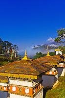 Druk Wangyel Chorten atop Dochula Pass, Bhutan