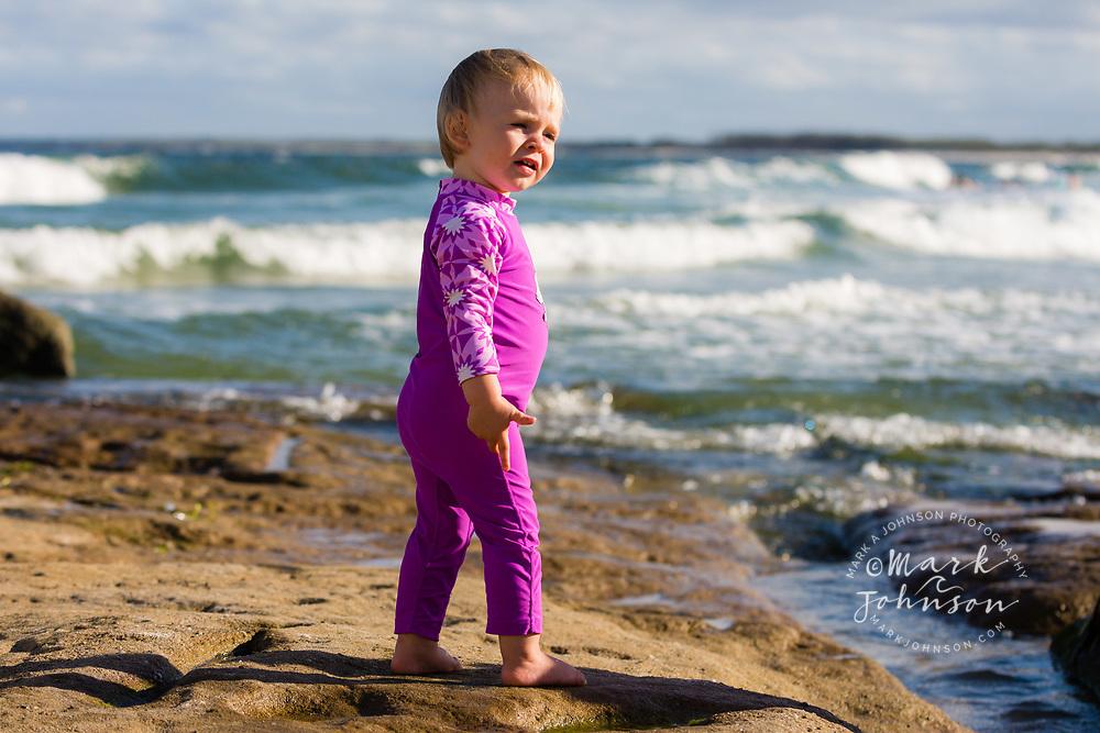 15 week old girl, Kings Beach, Caloundra, Sunshine Coast, Queensland, Australia