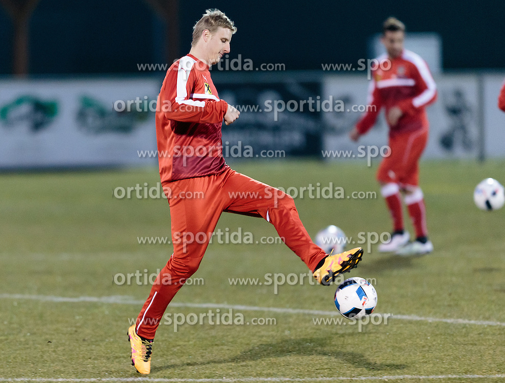 21.03.2016, Sportzentrum, Stegersbach, AUT, OeFB Training, im Bild Martin Hinteregger (AUT) // Martin Hinteregger (AUT) during a Trainingssession of Austrian National Footballteam at the Sportcenter in Stegersbach, Austria on 2016/03/26. EXPA Pictures © 2016, PhotoCredit: EXPA/ JFK