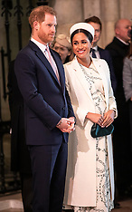 Harry and Meghan looking posed  - 25 March 2018