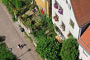 Meißen, Altstadt von oben, Sachsen, Deutschland. .old town of Meissen, Saxony, Germany.