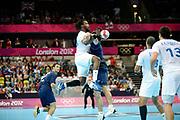 DESCRIZIONE : France Handball Jeux Olympiques Londres <br /> GIOCATORE : Sorhaindo Cedric FRA<br /> SQUADRA : France Homme<br /> EVENTO : FRANCE Handball Jeux Olympiques<br /> GARA : FRANCE ARGENTINE<br /> DATA : 31 07 2012<br /> CATEGORIA : handball Jeux Olympiques<br /> SPORT : HANDBALL<br /> AUTORE : JF Molliere <br /> Galleria : France JEUX OLYMPIQUES 2012 Action<br /> Fotonotizia : France Handball Homme Jeux Olympiques Londres premier tour <br /> Predefinita :
