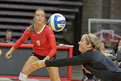 19 August 2017:  Courtney Pence during a college women's volleyball match Scrimmage of the Illinois State Redbirds at Redbird Arena in Normal IL (Photo by Alan Look)