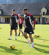 Dundee&rsquo;s Kane Hemmings -  Dundee FC pre-season training camp in Obertraun, Austria<br /> <br />  - &copy; David Young - www.davidyoungphoto.co.uk - email: davidyoungphoto@gmail.com