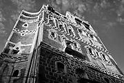 Facade in Sanaa city.