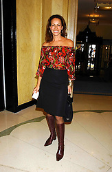 ANDREA DELLAL at a lunch and fashion show by Bruce Oldfield in aid of Barnados and held at Claridges, Brook Street, London W1 on 22nd September 2004.<br />