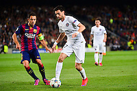 Javier PASTORE / XAVI - 21.04.2015 - Barcelone / Paris Saint Germain - 1/4Finale Retour Champions League<br />