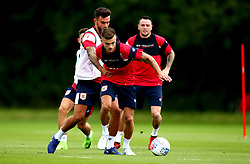 Jamie Paterson and Marlon Pack in action as Bristol City return to training ahead of their 2017/18 Sky Bet Championship campaign - Mandatory by-line: Robbie Stephenson/JMP - 30/06/2017 - FOOTBALL - Failand Training Ground - Bristol, United Kingdom - Bristol City Pre Season Training - Sky Bet Championship