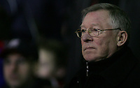 Photo: Paul Thomas.<br /> Manchester United v Middlesbrough. The FA Cup, Quarter Final replay. 19/03/2007.<br /> <br /> Sir Alex Ferguson, manager of Utd.